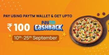 Pay via Paytm Wallet & get Paytm Cashback upto ₹100