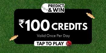 Predict & Win ₹100 Credits