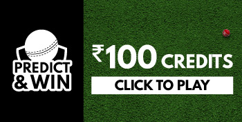 Predict the Match Winner. Get ₹100 Credits back if your team wins.