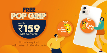 On every order | Valid on top of other discounts