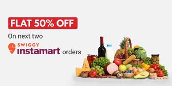 Order from Box8 and get Flat 50% OFF on Swiggy IM