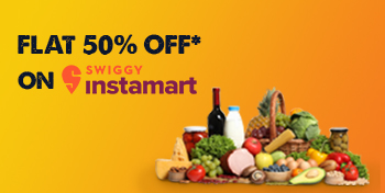 Order from us and get Flat 50% OFF on Swiggy IM